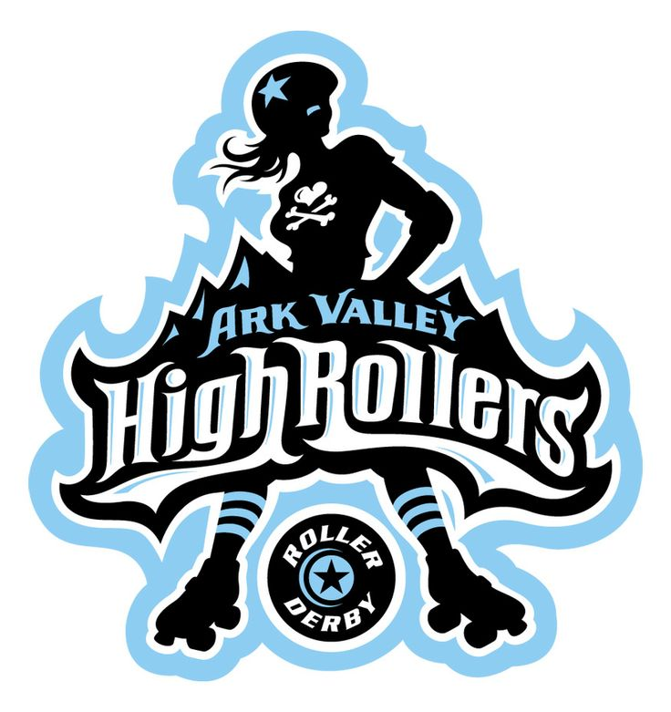 High Rollers Derby Logo