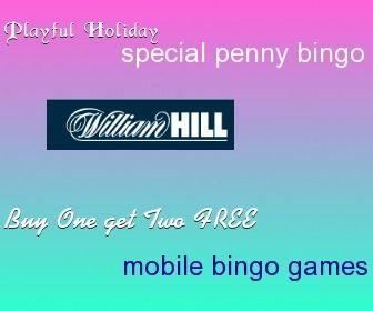 Play Penny Bingo Sundays at William Hill Bingo This January