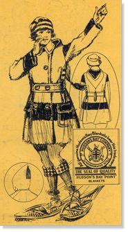 Blanket coat advertisement, 1922