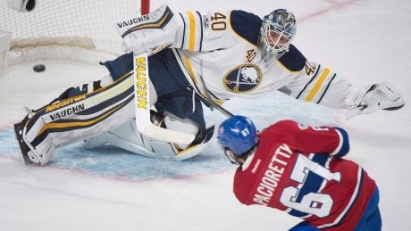 Max Pacioretty's hat trick leads Canadiens over Sabres