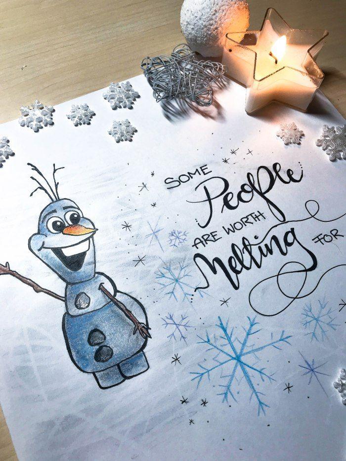 Die Besten 25 Frozen Zeichnungen Ideen Auf Pinterest