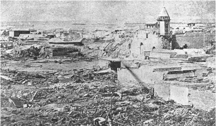Restos de la iglesia Matriz, 1868