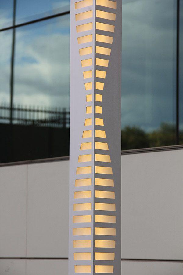 Details on our 'Modern Lines' Aluminum LED Outdoor Lighting -- 'Modern Çizgiler' LED Dış Mekan Aydınlatma Armatürü