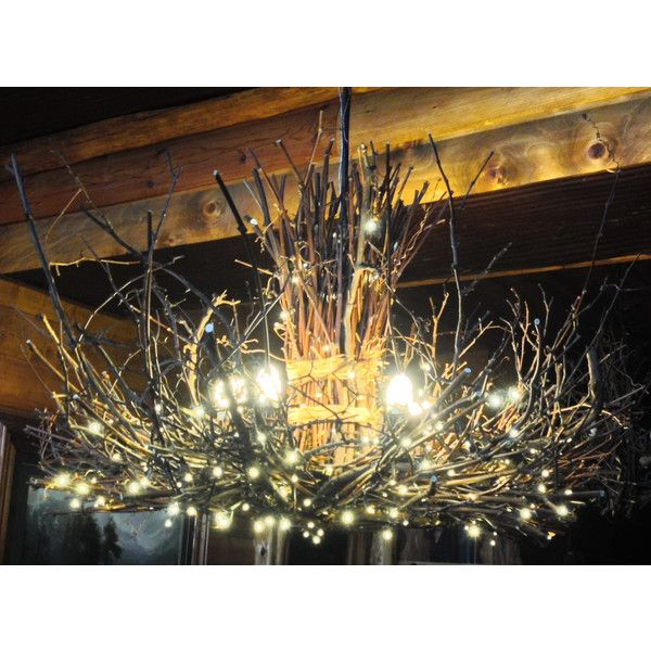 Shenandoah 5 1 Down Light Rustic Chandelier Twig: Pin By Cassie Vision On Polyvore