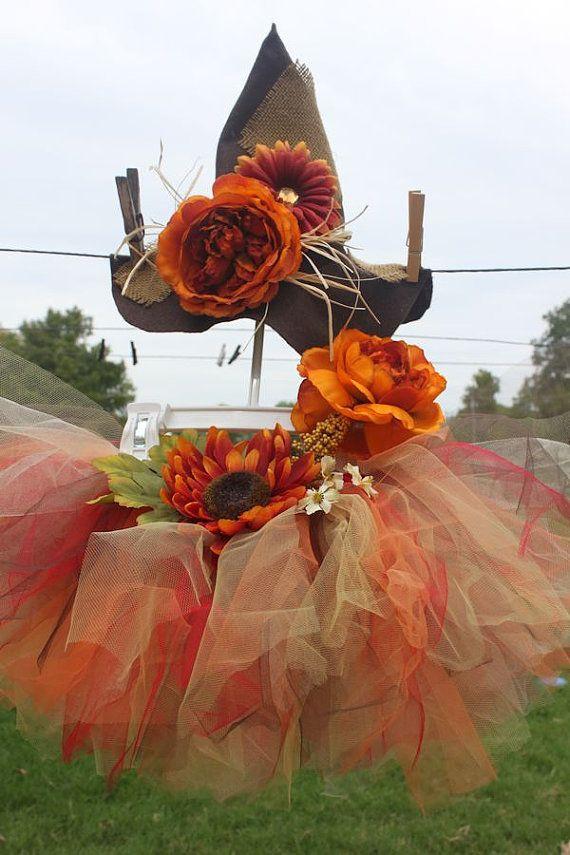 Scarecrow Tutu Set - Short - 12 Mo to 5t on Etsy, $37.00