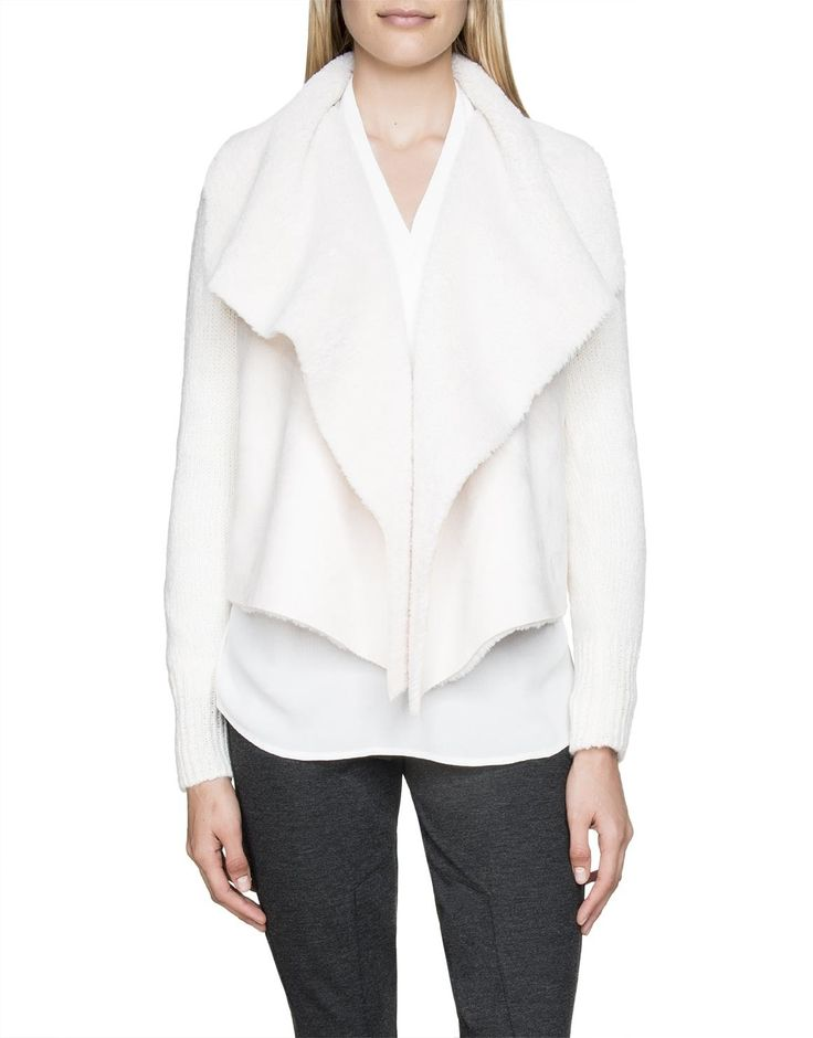 Sherpa Waterfall Cardigan