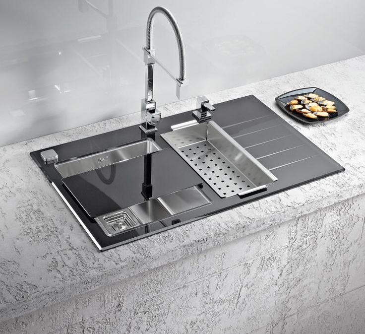kitchen sinks and faucets designs products stainless steel and glasses on 8579