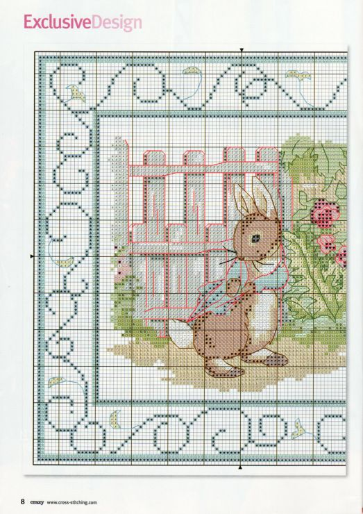 Gallery.ru / Фото #7 - Cross Stitch Crazy 125 июнь 2009 - tymannost