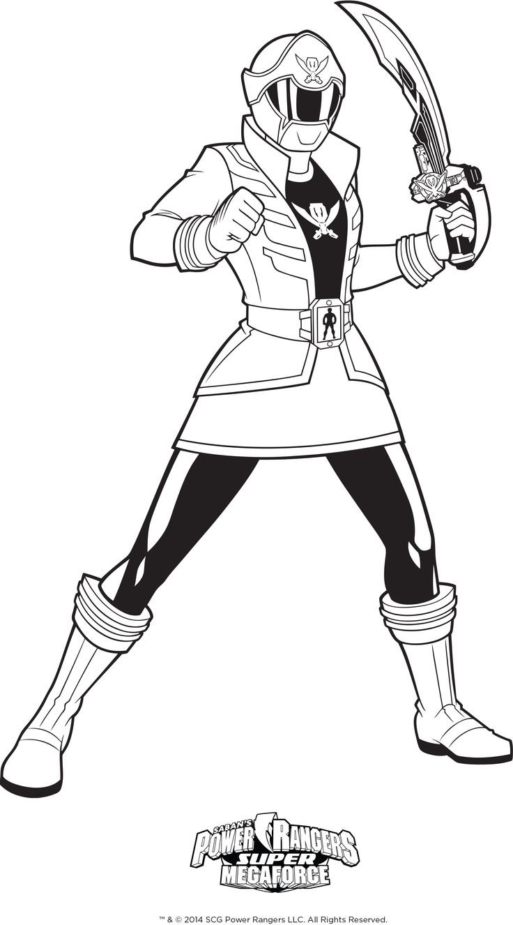 14++ Printable power rangers megaforce coloring pages information