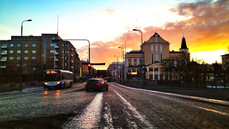 Hämeenkatu, Dowtown Tampere.