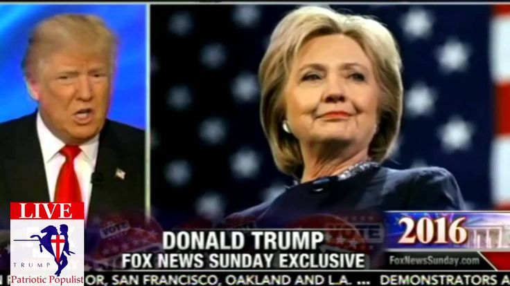 Donald Trump On FOX News Sunday Exclusive - Lyin' Ted And Mike Tyson