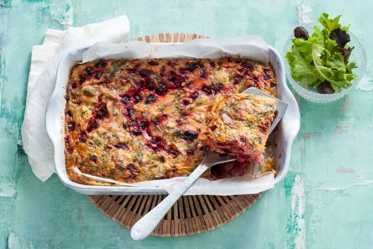 Rijkgevuld ei-gerecht uit de oven mét Midden-Oosterse graansoort freekeh - Recept - Allerhande
