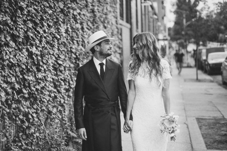 "Sara Brown and Mordechai ""Mister Mort"" Rubinstein's Traditional Brooklyn Wedding"