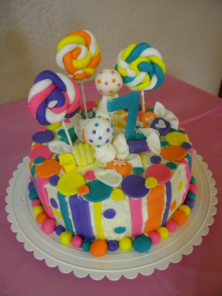 5 Year Old Girl Birthday Cake Google Search Bday Cakes