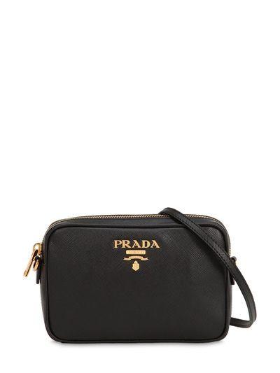 27ecb1ffbc22 ... cheap prada saffiano leather camera bag black style pinterest leather  camera bag 56990 c0886