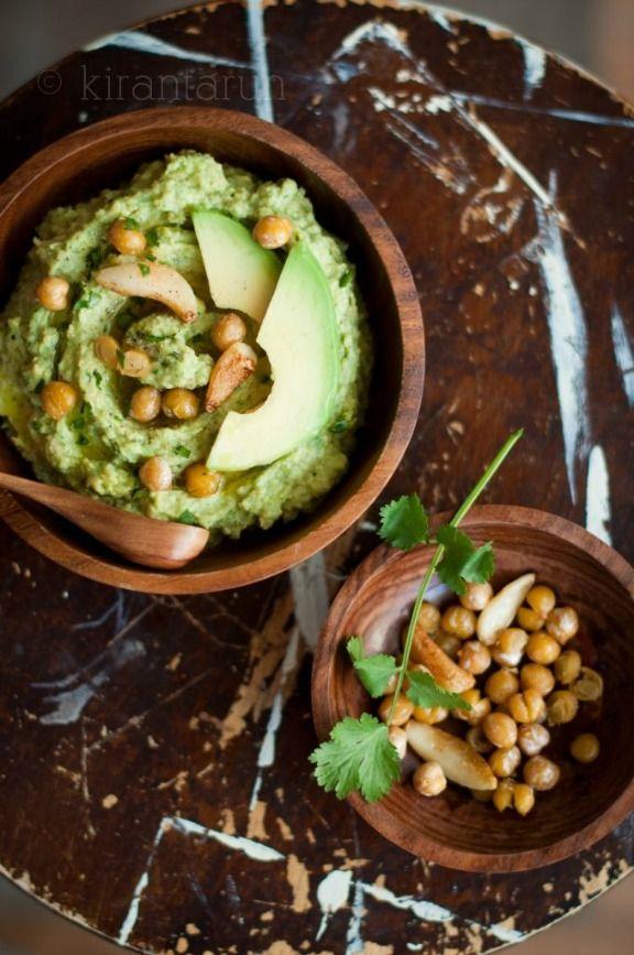 Avocado Hummus   kirantarun.com