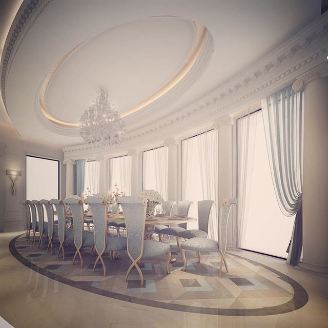 Traditional Interior Design By Ownby: Abudhabi, Qatar, Dubai