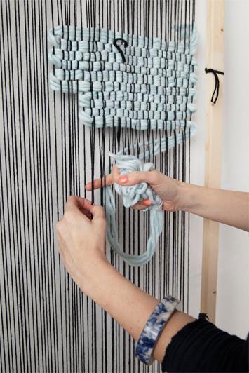 Handmade textiles from New Friends design studio