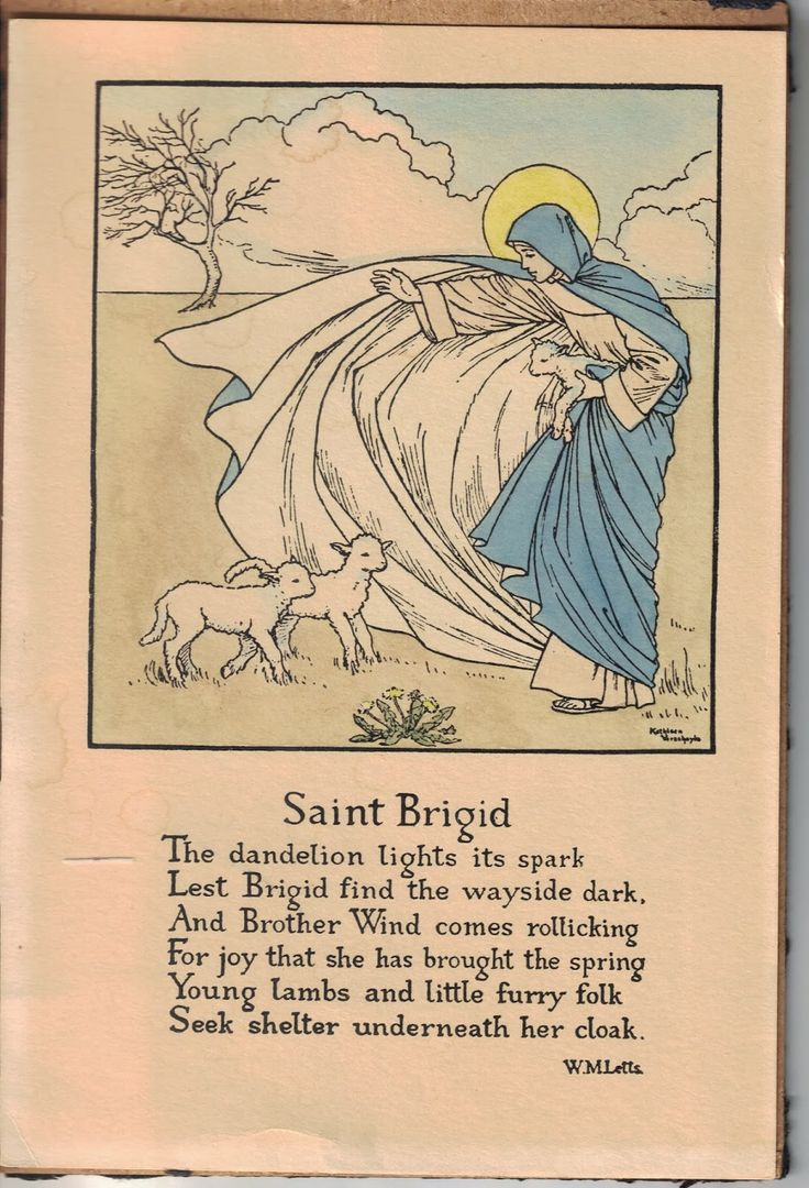"Female Poets of The First World War: Winifred Mabel Letts - ""Saint Brigid"" on St. Brigid's Day - 1st February"