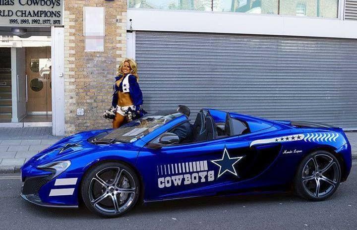 Must see: Cool Dallas Cowboy cars | Dallas Cowboys