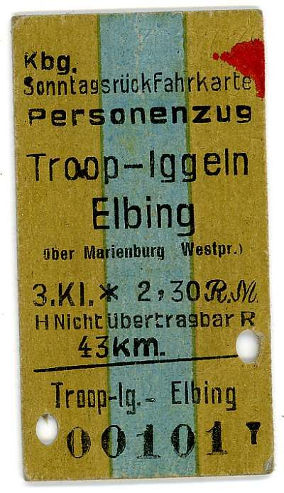 Marienburg.pl :: View topic - Old train tickets