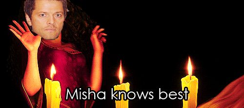 Listen to your Misha! It's a Misha world out there!