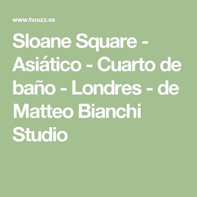 Sloane Square - Asiático - Cuarto de baño - Londres - de Matteo Bianchi Studio