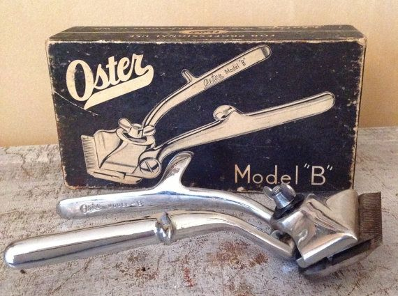Vintage Oster Model B Professional Hair Clipper...my mom used to have a couple of them!!!