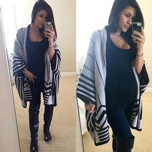 Simple idea for those tired and cold days | pregnancy | Pinterest | Pregnancy Maternity fashion ...