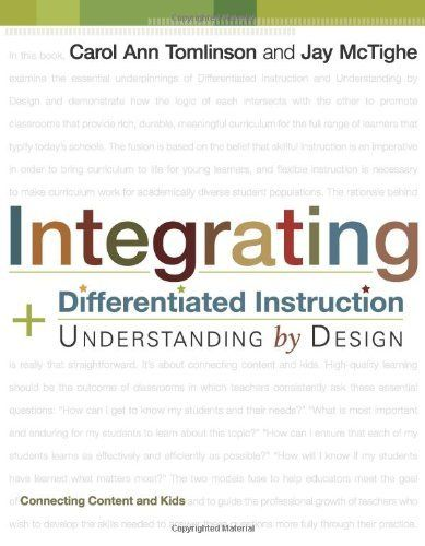 1000 images about differentiated instruction on pinterest - Understanding by design math unit plans ...