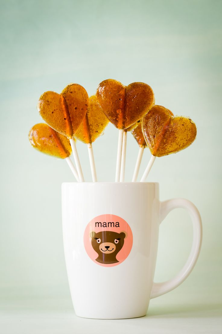 Homemade Cinnamon-Dusted Coffee Lollipops - from Cupcake Project