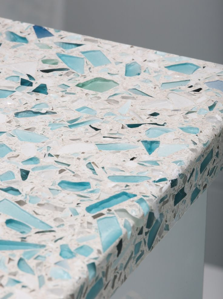 crushed-glass-countertop-vetrazzo-floating-blue-sea-pearl