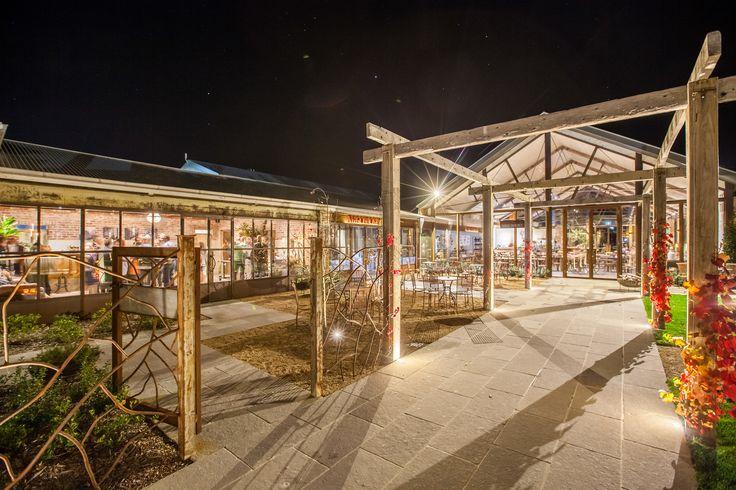 Entrance to Meletos #meletos #archway #outdoors #yarravalley #cafe
