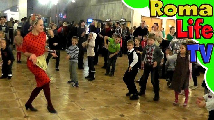 ✨ Музыкальный ВЛОГ. Детские развлечения перед театром. Танцы и веселье.
