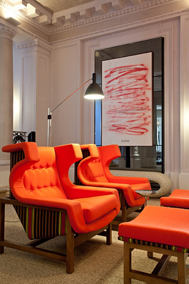 287 Best Home Decor In Oranges U0026 Corals Images On Pinterest | Dining Area,  Orange Interior And Room