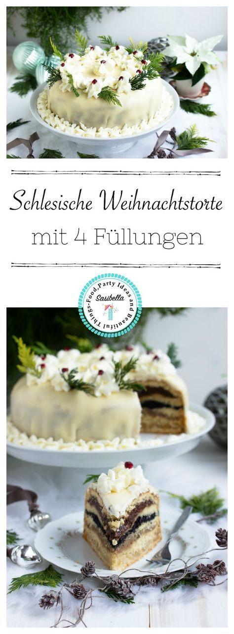Schlesische Weihnachtstorte /Adventskalendertürchen 18 - Sasibella