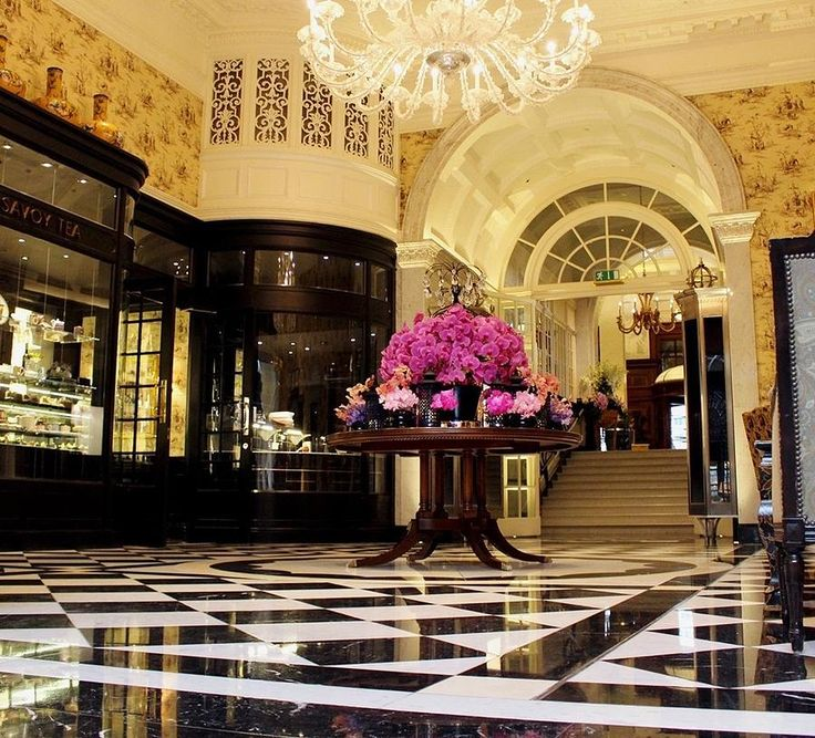 Savoy Hotel London England Photograph by Jacqueline Manos