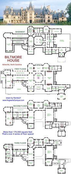 Hogwarts School Floor Plan just in case you wanted to know. Ok, it's not, but it would be the perfect place for a wizarding school.