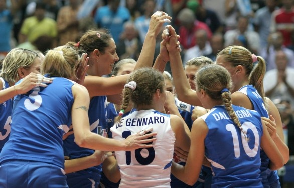 Women #volley Italia - Gran Bretagna 3-0