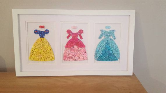 Check out this item in my Etsy shop https://www.etsy.com/au/listing/386016084/disney-princess-button-art-wall-decor