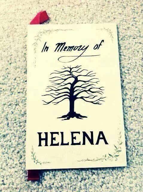 My Chemical Romance ~ Helena <3 idea for those wedding umm those things they…