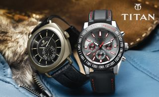 Titan Company brought about a paradigm shift in the Indian watch market when it introduced its futuristic quartz technology, complemented by international styling. Titan Company is the fifth largest integrated own brand watch manufacturer in the world. Titan Watch Collection - Shop For Your Best Collection of Titan Wrist Watches for men and Womens online in India. Check the best prices & the watch that goes with your style.