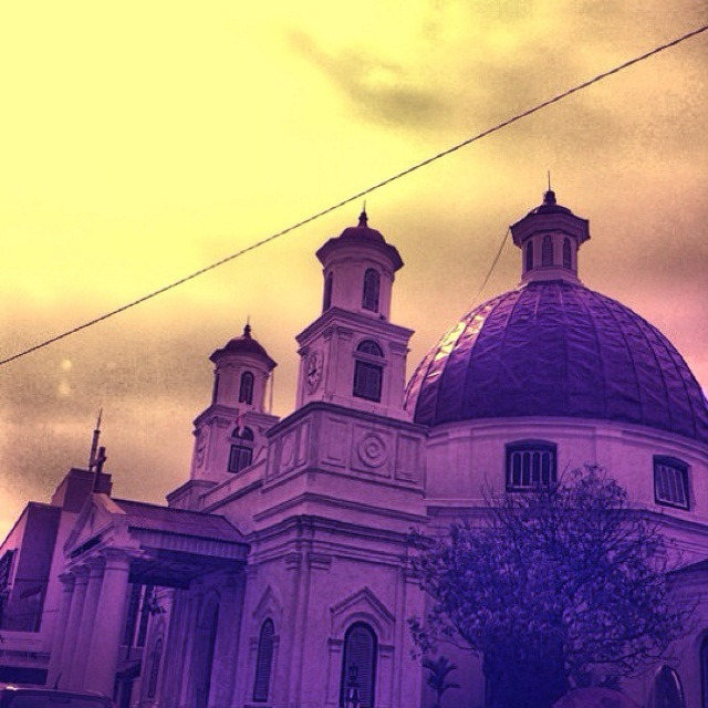 Gereja tua di semarang