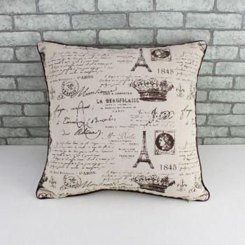 2014 nuevo estilo Zakka caso almohada reforzar amortiguador del coche del sofá cubierta zara mujer ikea patrón de tela de lino de algodón estilo pastoral