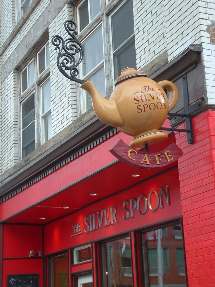 Sculptural Signs Tea -riffic Attention Grabbers