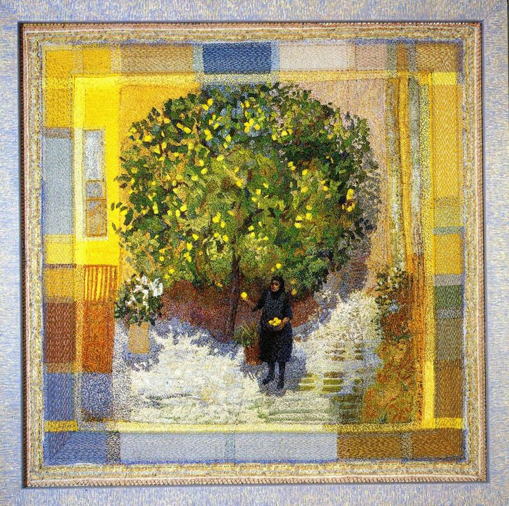 Eugene's lemon tree by Audrey Walker