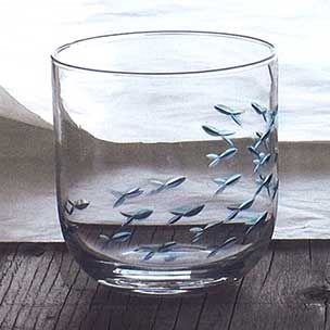 44 best creative peices of blown glass images on pinterest for Painted glass fish