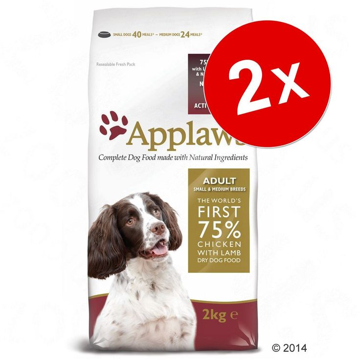 Animalerie  Lot Applaws 2 x 75 kg ou 15 kg  Puppy Small & Medium Breed poulet (2 x 15 kg)