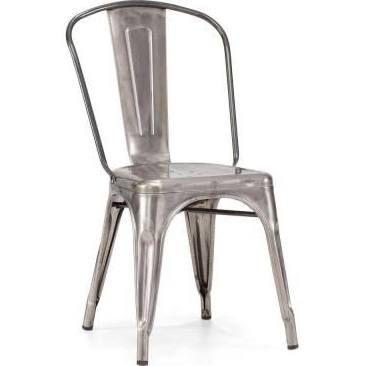 Elio White Dining Chair (Set of 2)