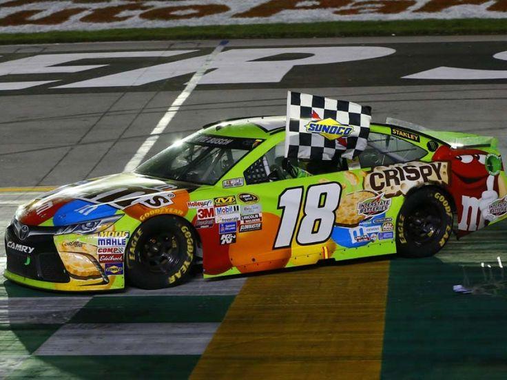 Kyle Busch wins at Kentucky 7/11/15.  (Photo credit: www.kylebush.com)